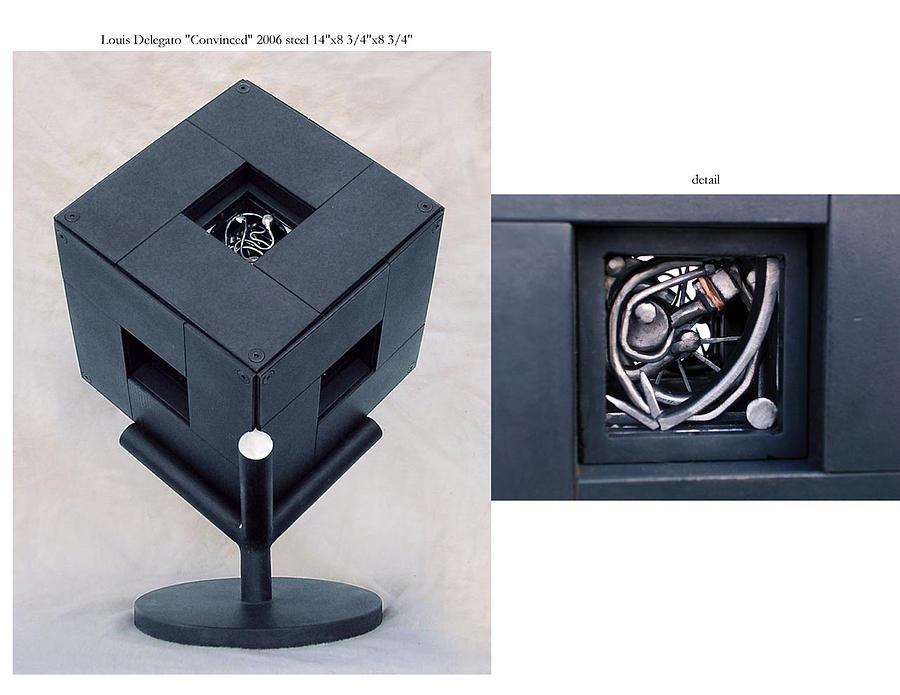 Sculptural Sculpture - The Cube by Louis Delegato
