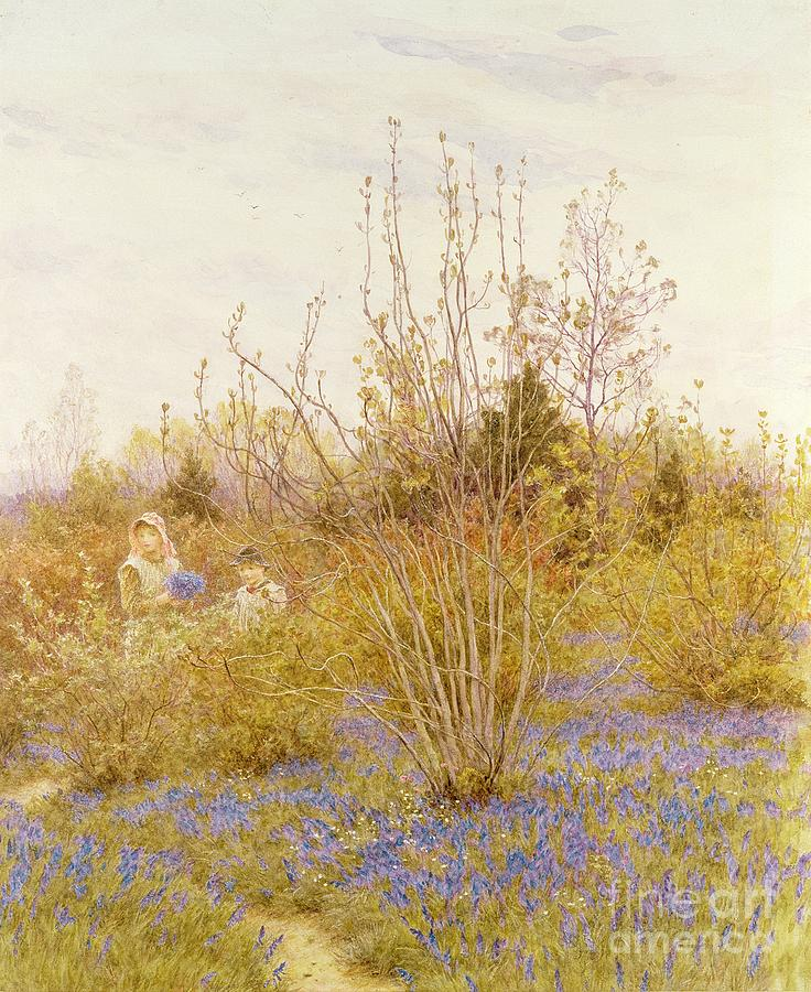 The Painting - The Cuckoo by Helen Allingham