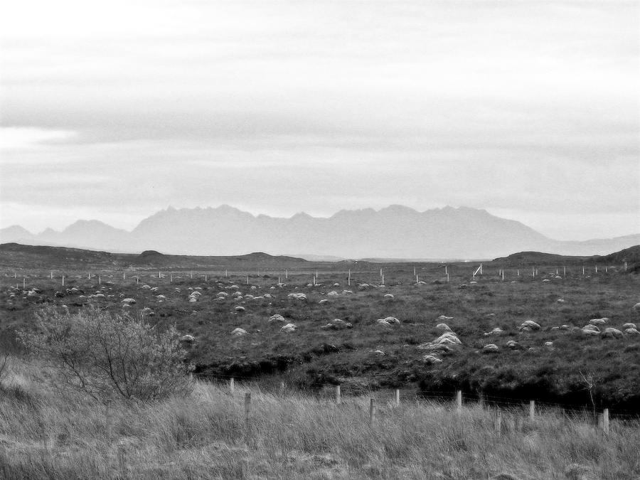 Landscape Photograph - The Cuillin by Dan Andersson