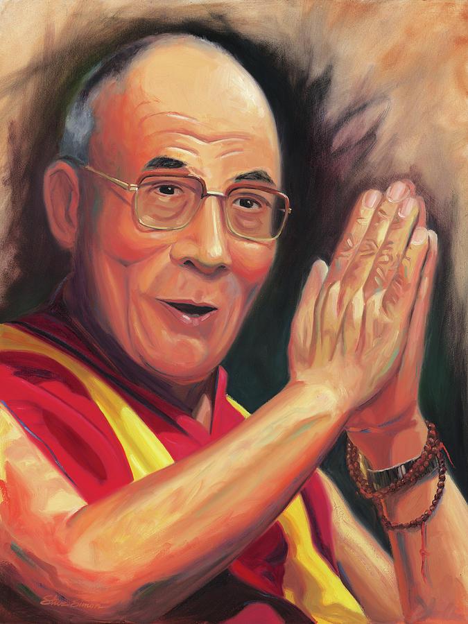 The Dalai Lama Painting