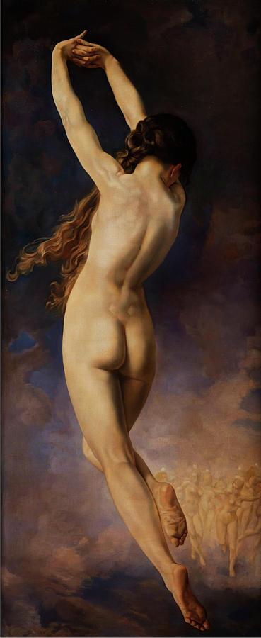 Fanny Painting - The Dance by John William Godward
