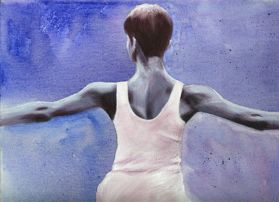 Dancer Painting - The Dancer by Fiona Jack
