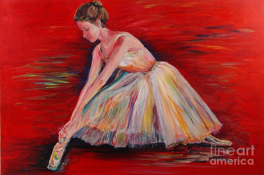 Dancer Painting - The Dancer by Nadine Rippelmeyer