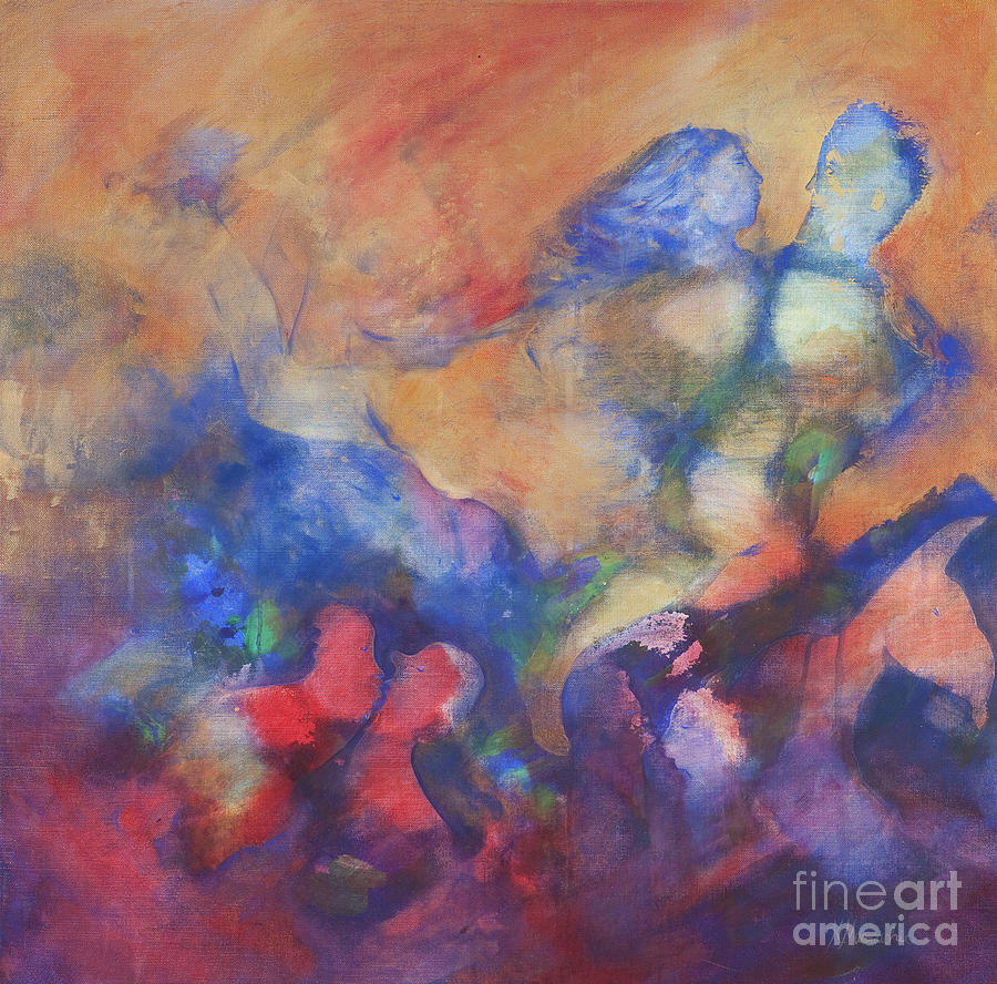 Dance Painting - The Dancers by Kate Maconachie