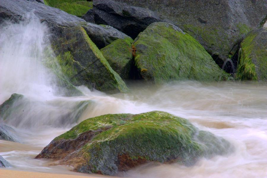Landscape Photograph - The Dancing Tide by Brad Scott