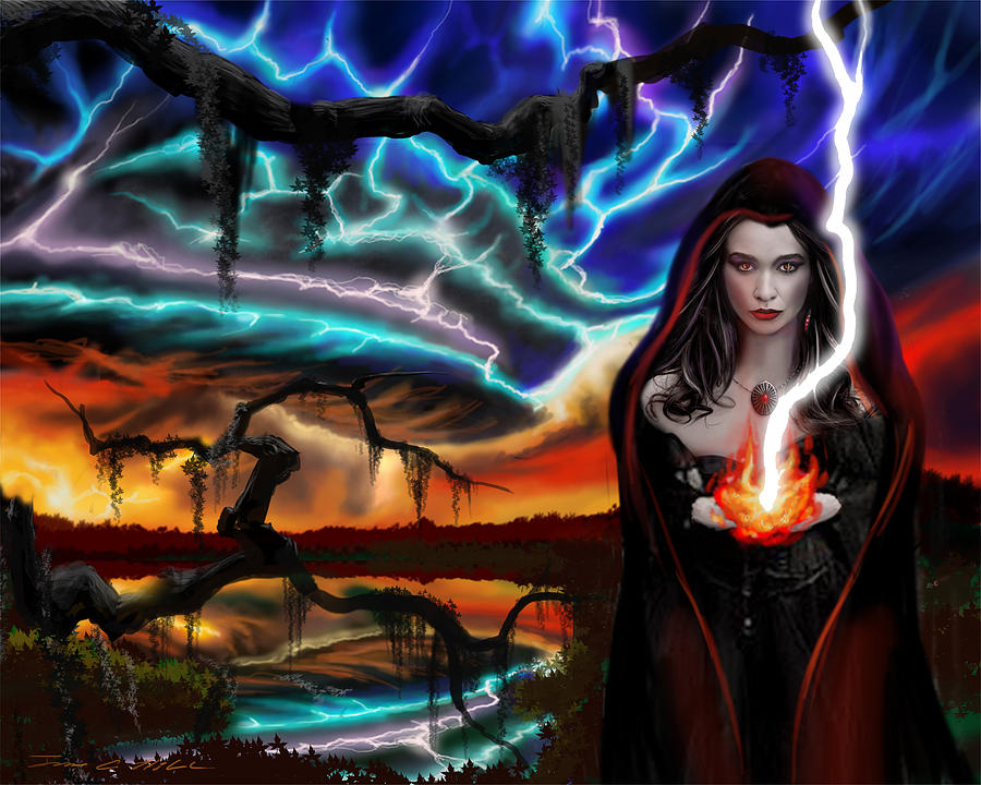 The Dark Caster Calls The Storm by James Christopher Hill