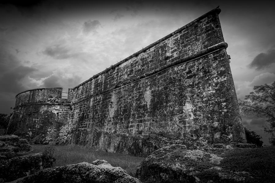 Nassau Photograph - The Dark Fort by Vincent Asbjornsen