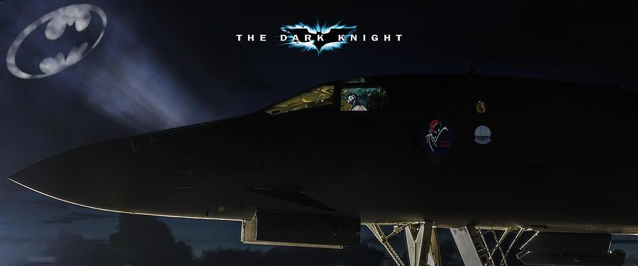 Aviation Digital Art - The Dark Knight 2 by Peter Chilelli