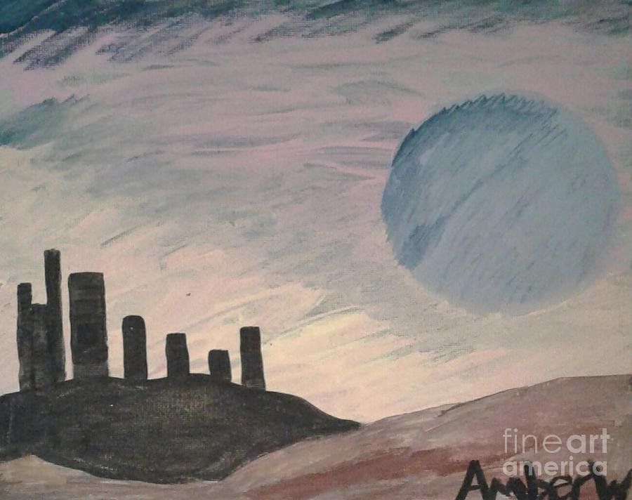 Nibiru Planet X Painting