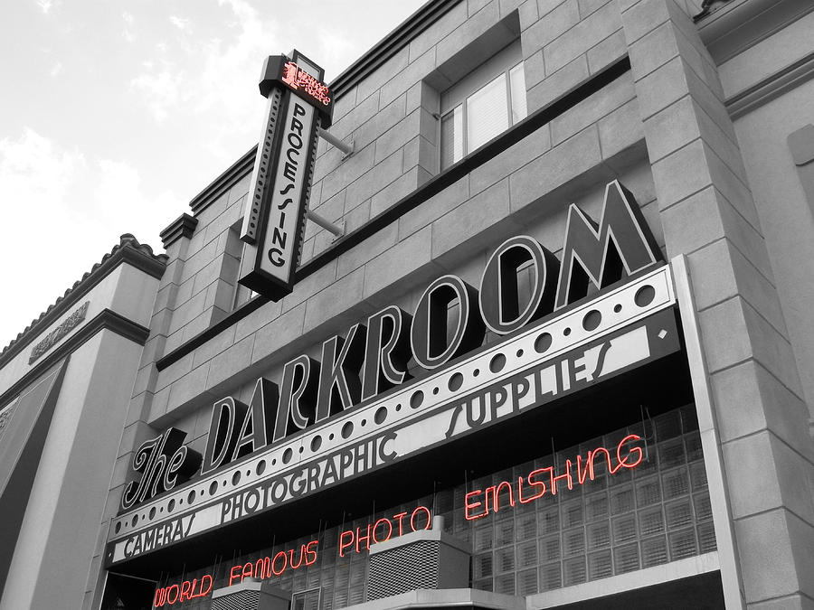 City Photograph - The Darkroom by Audrey Venute
