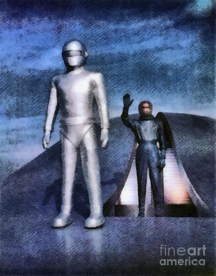 The Day The Earth Stood Still Painting