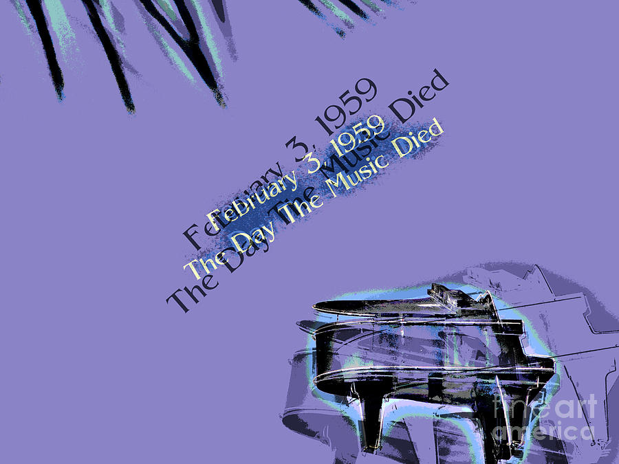 Day Photograph - The Day The Music Died - Feb 3 1959 by Al Bourassa