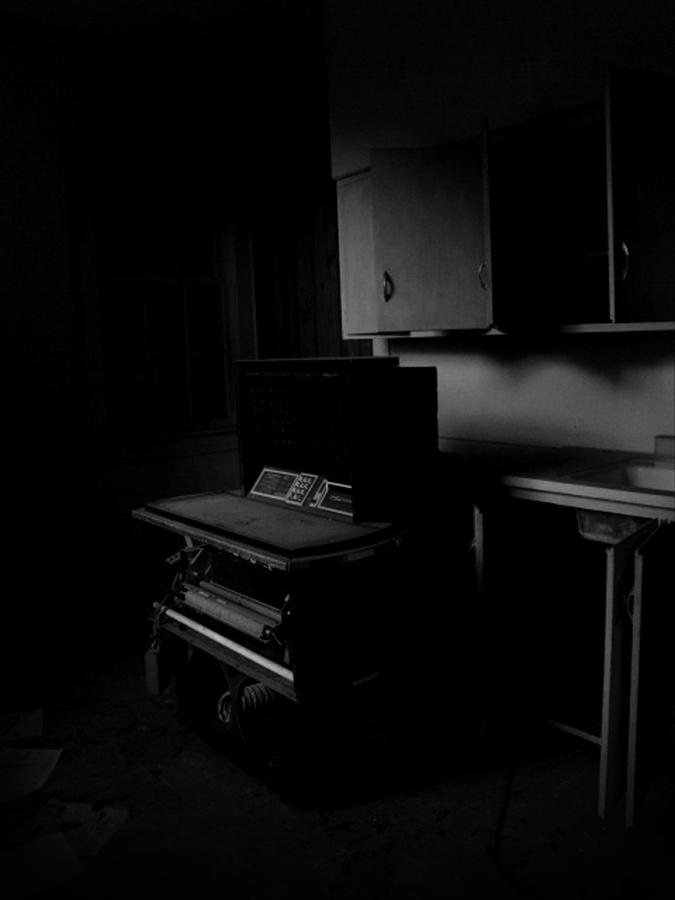 Black And White Photograph - The Day The Music Died by Jessica Brawley