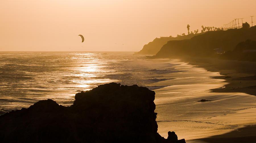 Malibu Photograph - The Days Last Ride by Adam Pender