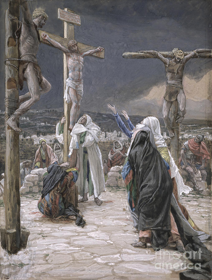 The Painting - The Death Of Jesus by Tissot