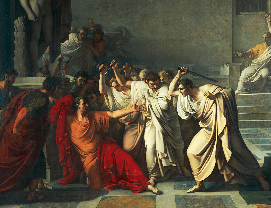 the assassination of julius caesar in the tragedy of julius caesar Julius caesar's bloody assassination on march 15, 44 bc, forever  for his play julius caesar,where brutus is portrayed as a tragic hero and.