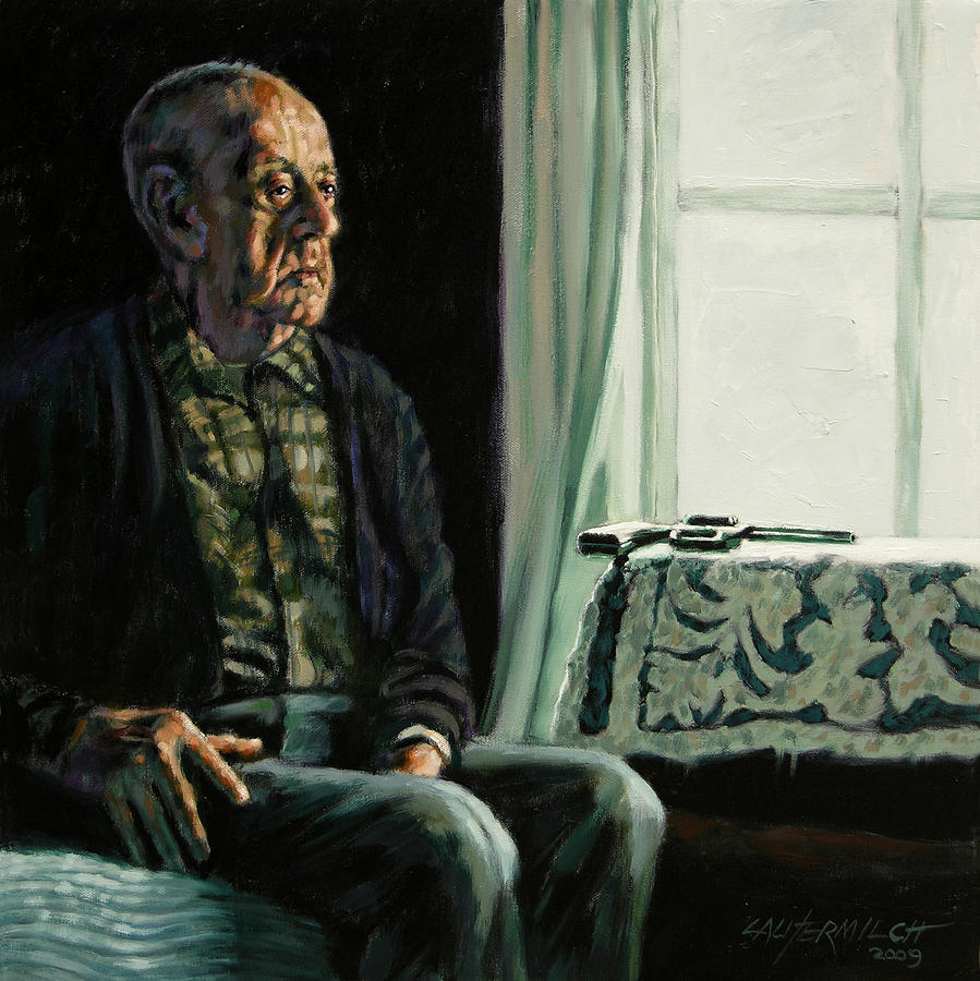 Depression Painting - The Decision by John Lautermilch