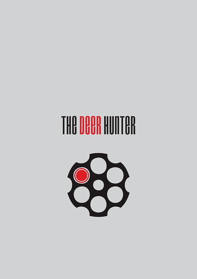 The Deer Hunter Digital Art - The Deer Hunter - Alternative Movie Poster by Movie Poster Boy