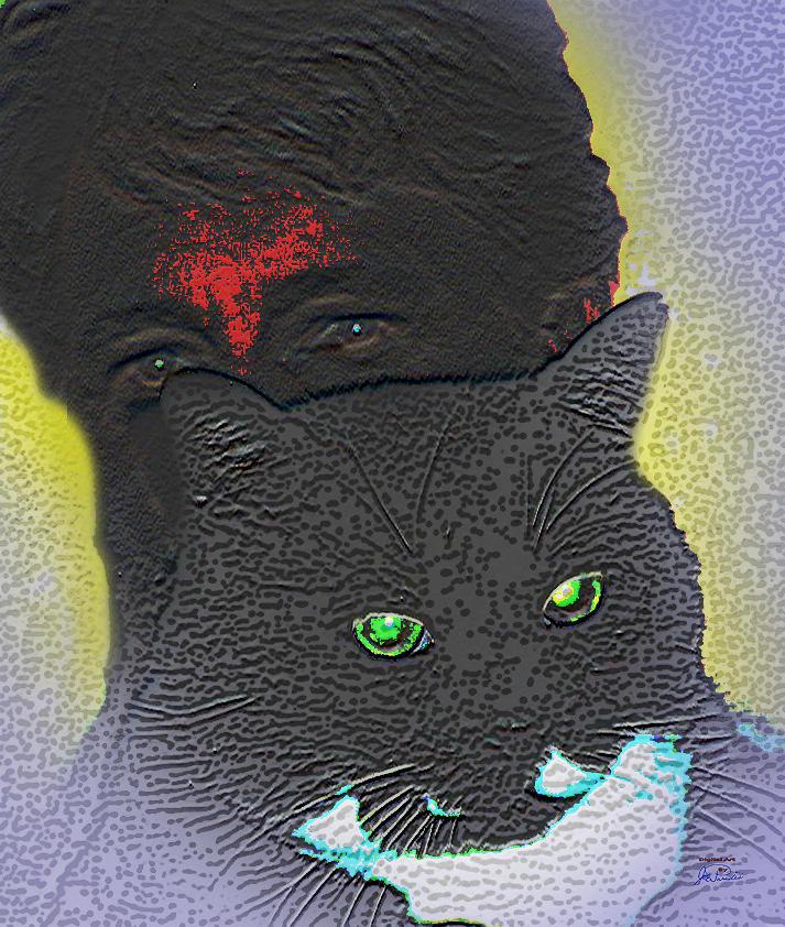 The Devils Mask Digital Art