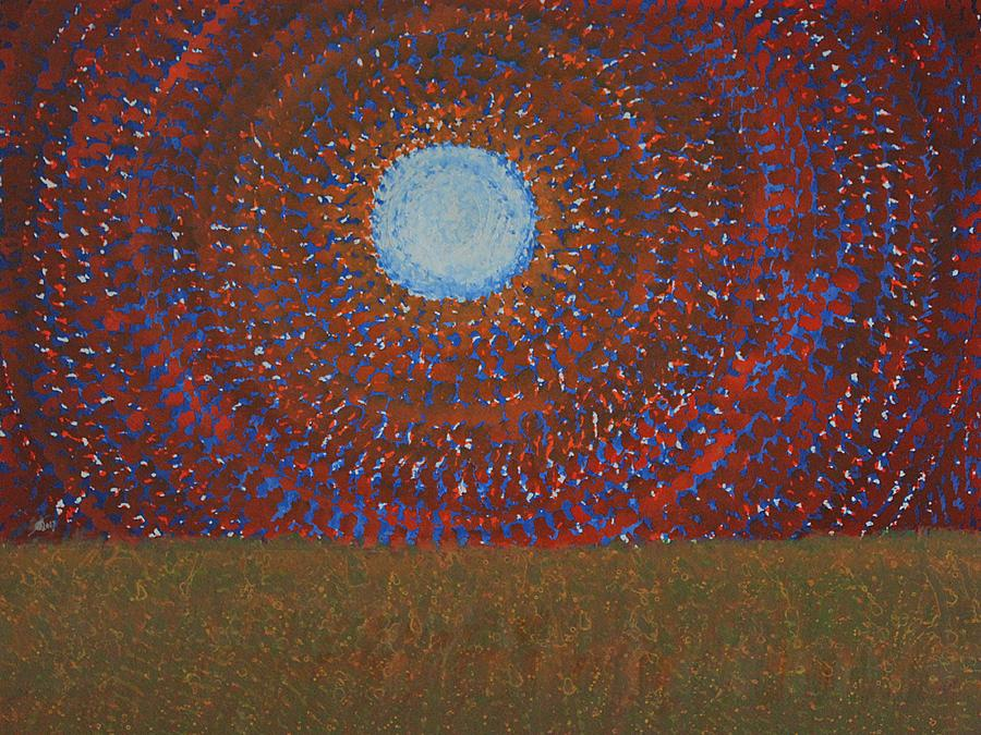 Sol Luckman Painting - The Difficulty Of Crossing A Field Original Painting by Sol Luckman