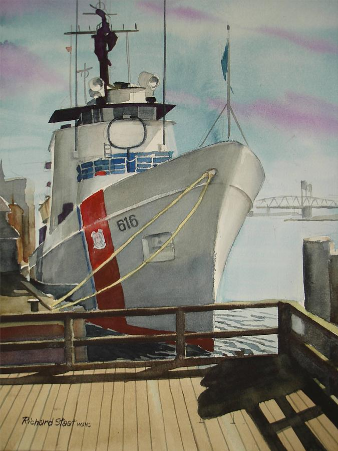 Ships Painting - The Diligence by Richard Staat