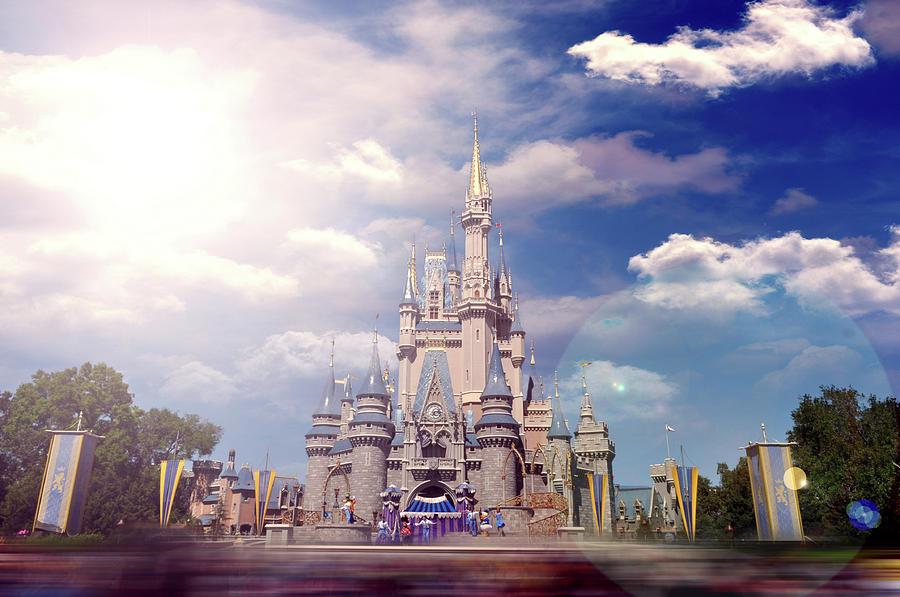 Disney Photograph - The Disney Rush by Ryan Crane
