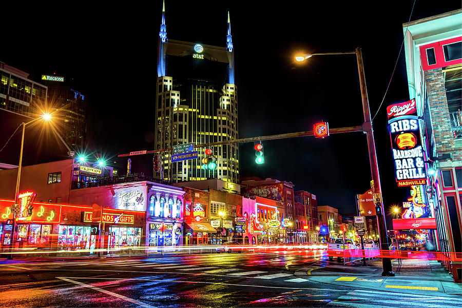 The District - Nashville Tennessee Photograph