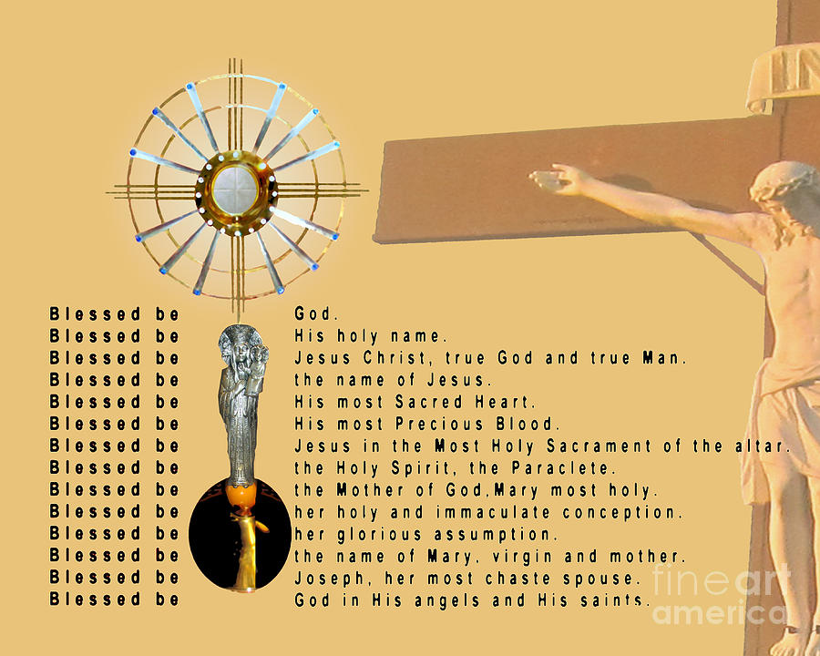 The Divine Praises Digital Art by John Swencki