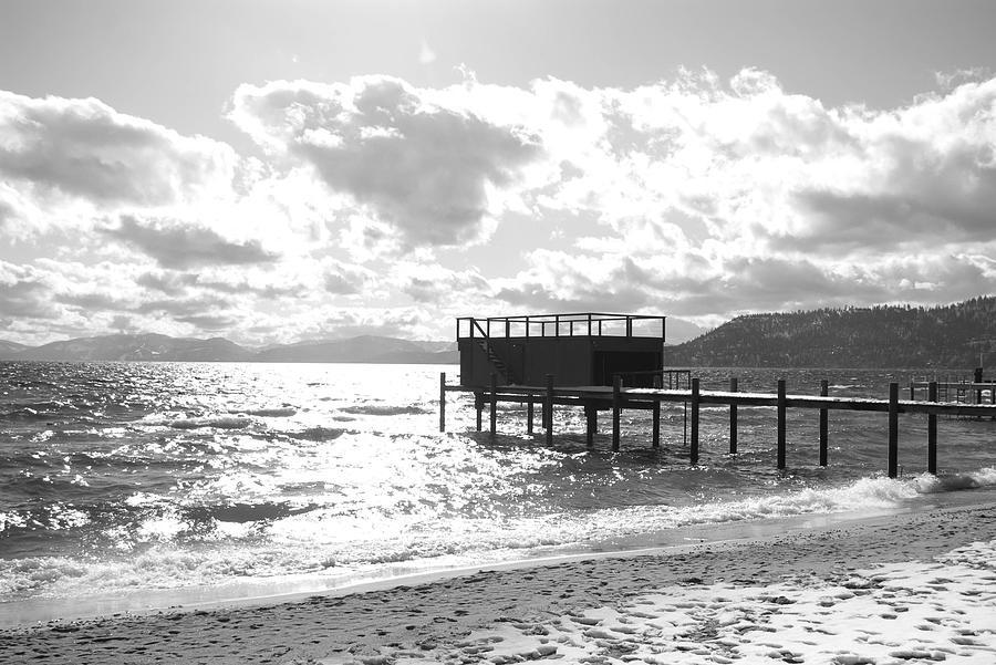 Lake Tahoe Photograph - The Dock In Tahoe by Kiwi Lee