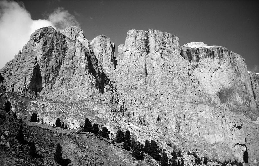 Europe Photograph - The Dolomites by Juergen Weiss