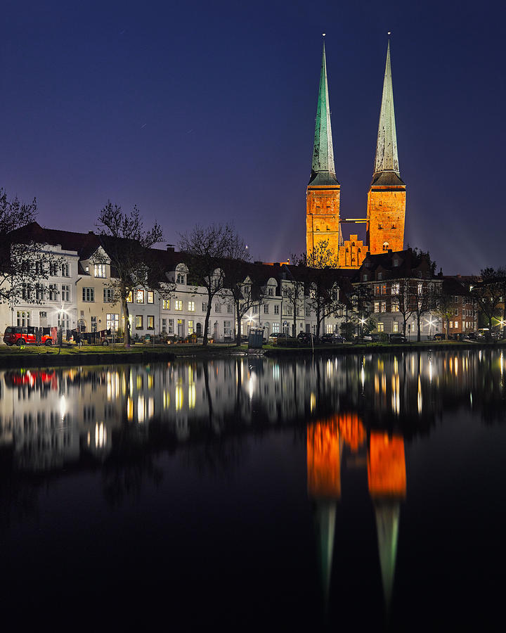 The Dom In Luebeck Photograph