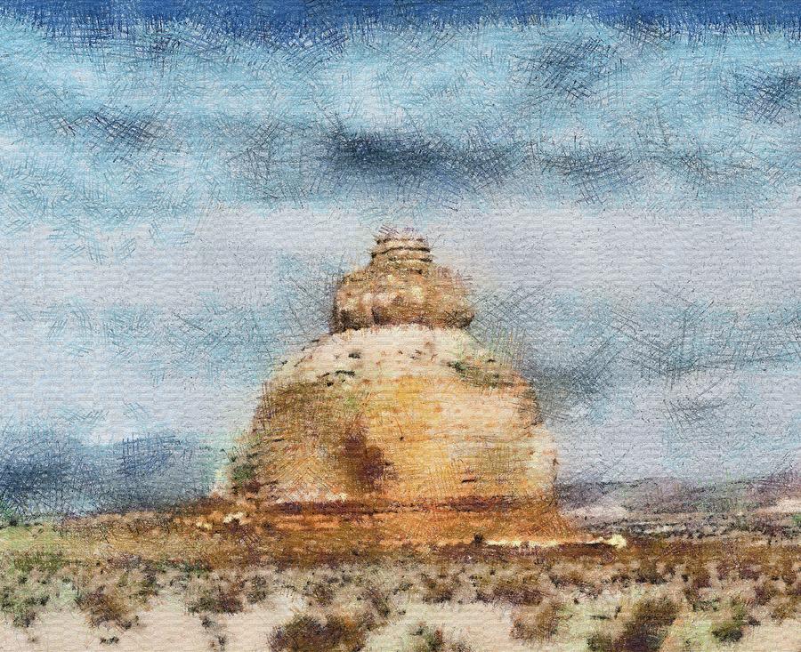 Desert Photograph - The Dome by John Winner