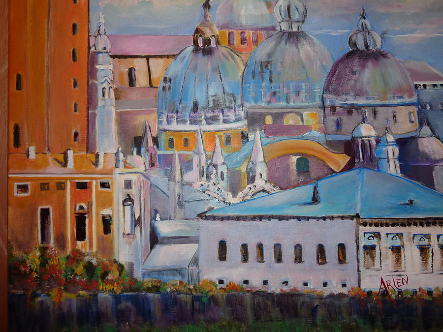 The Domes in Italy by Arlen Avernian - Thorensen