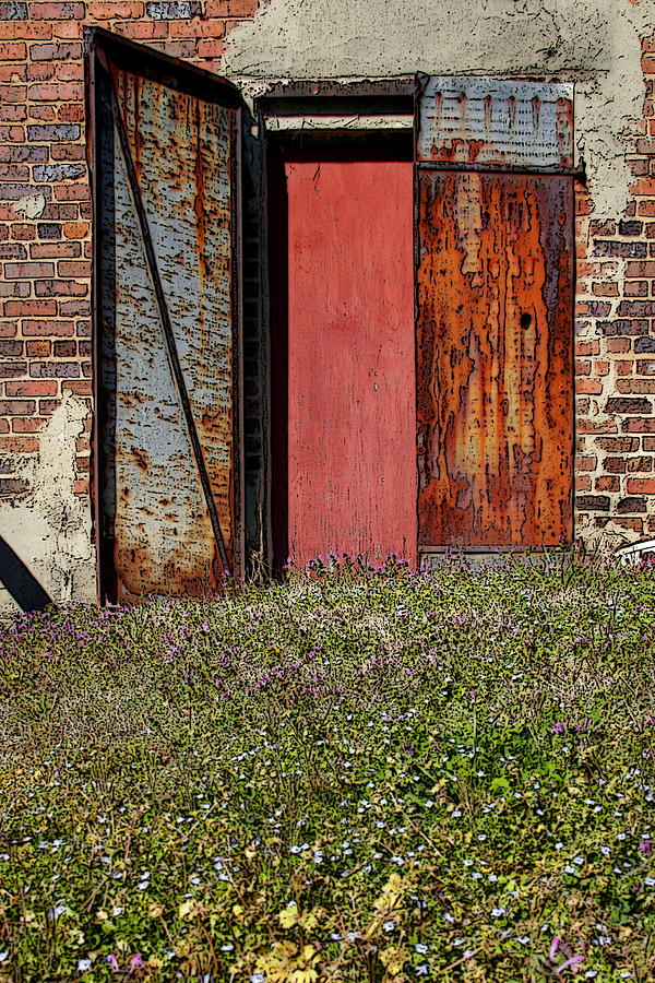 Rust Photograph - The Door by Alan Skonieczny