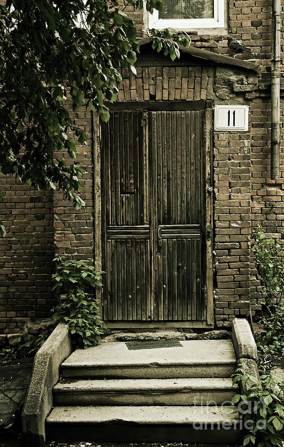 Door Photograph - The Door by Evgeniy Lankin