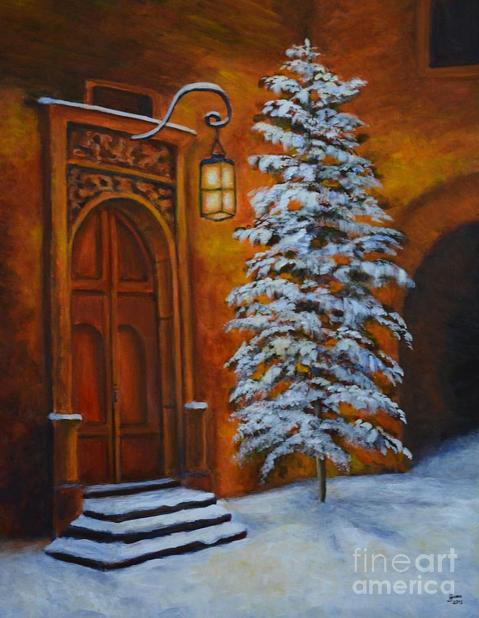 Door Painting - The Door by Jana Baker