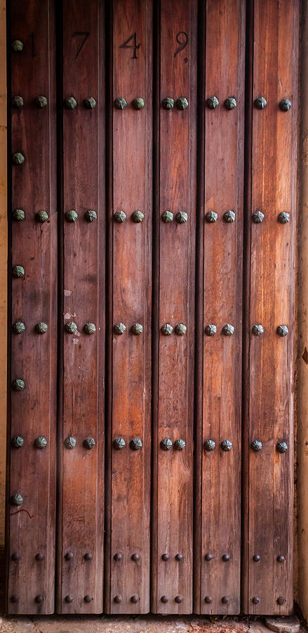 Door Photograph - The Door Of San Juan by Jenifer Kim