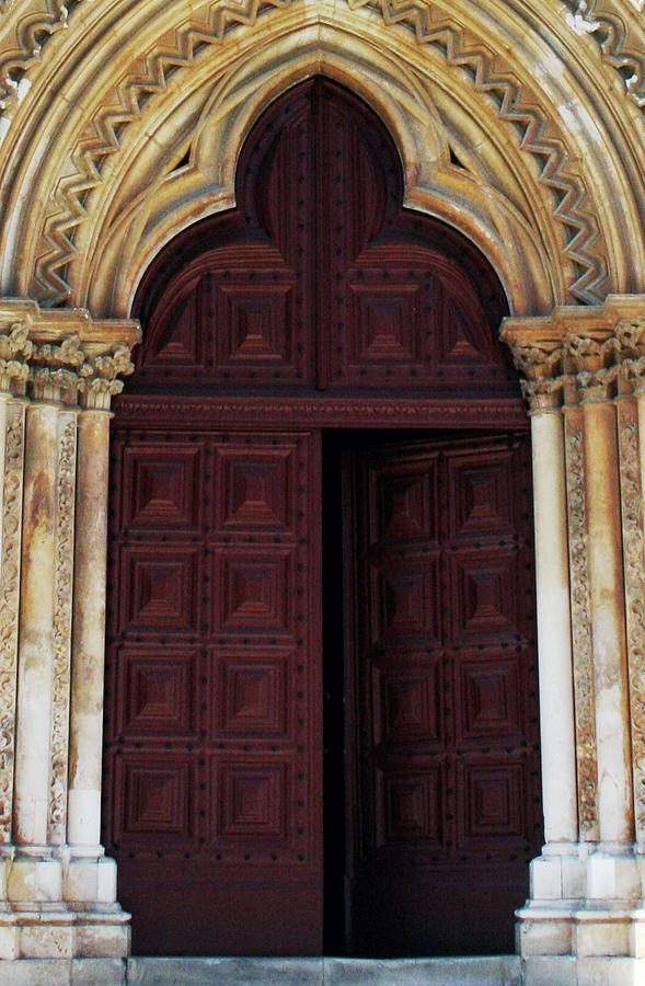 Monastery Photograph - The Door by Raquel Daniell