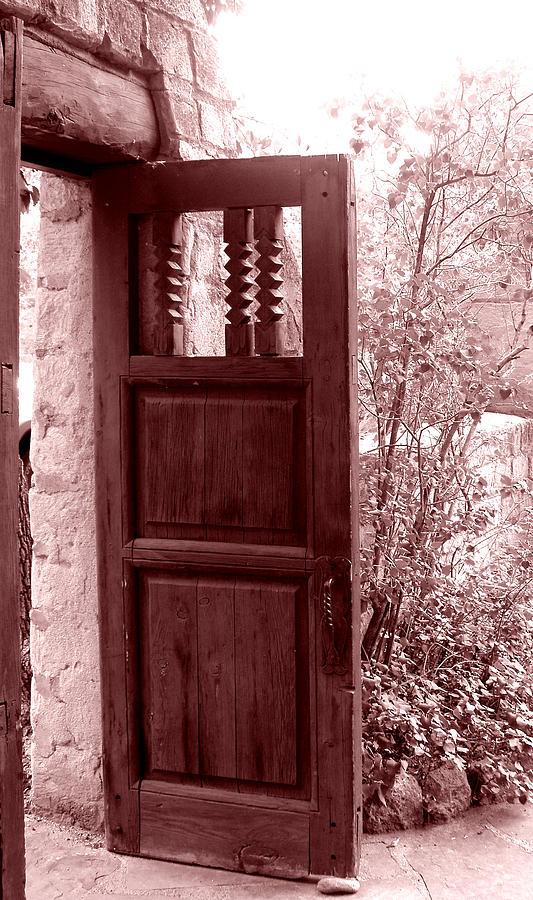 Door Photograph - The Door by Wayne Potrafka