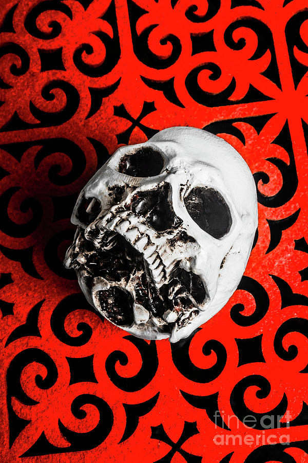 Skeleton Photograph - The Downfall by Jorgo Photography - Wall Art Gallery