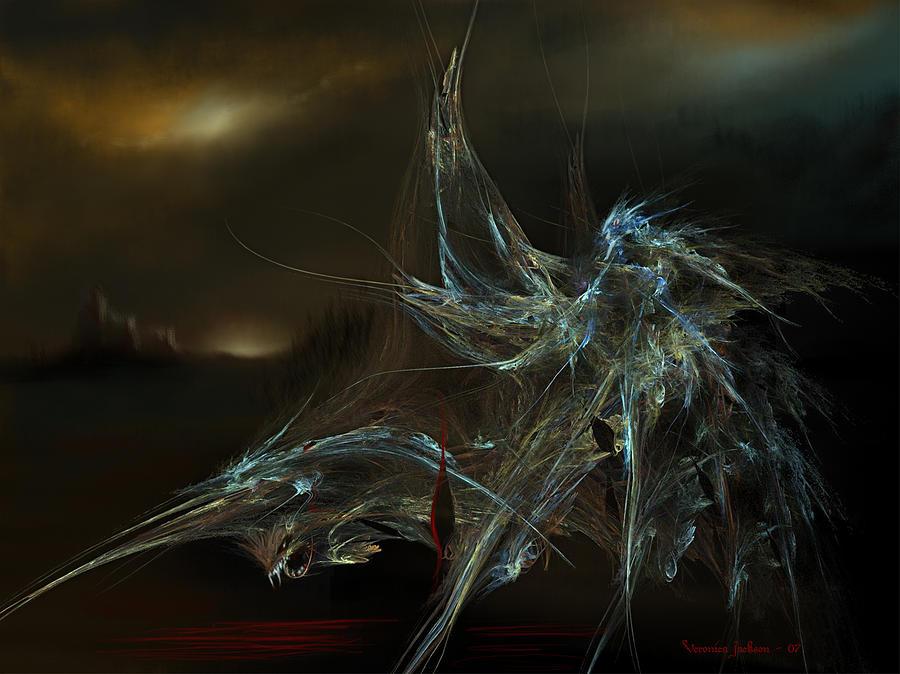 The Dragon Warrior Digital Art