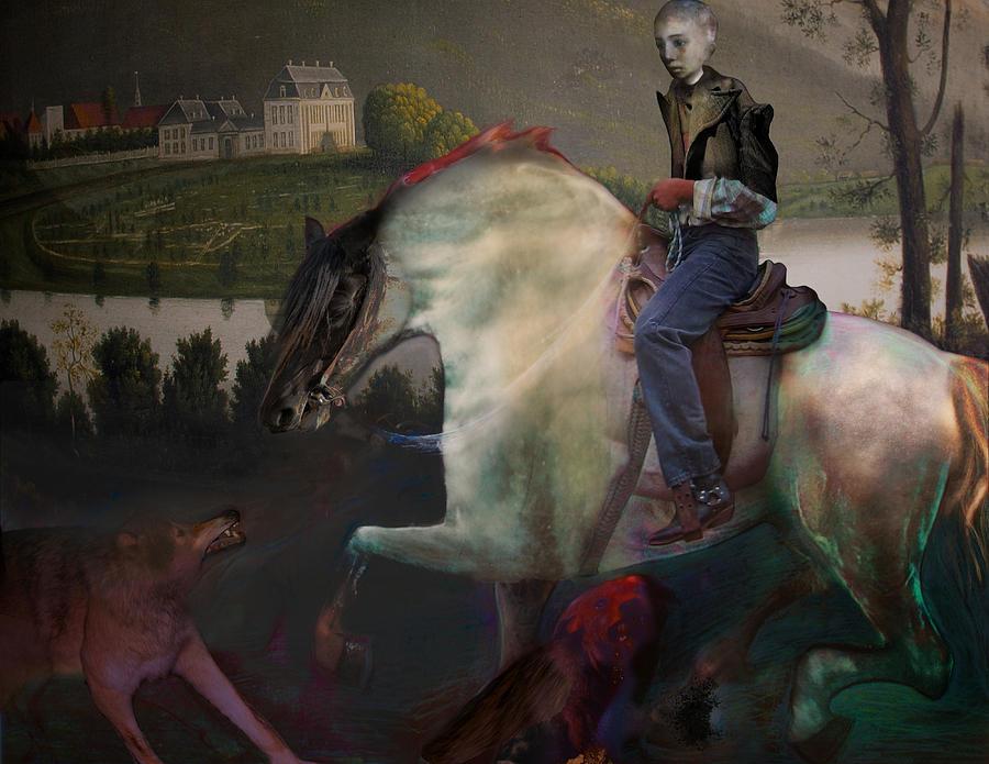 Dream Digital Art - The Dream 1 by Henriette Tuer lund