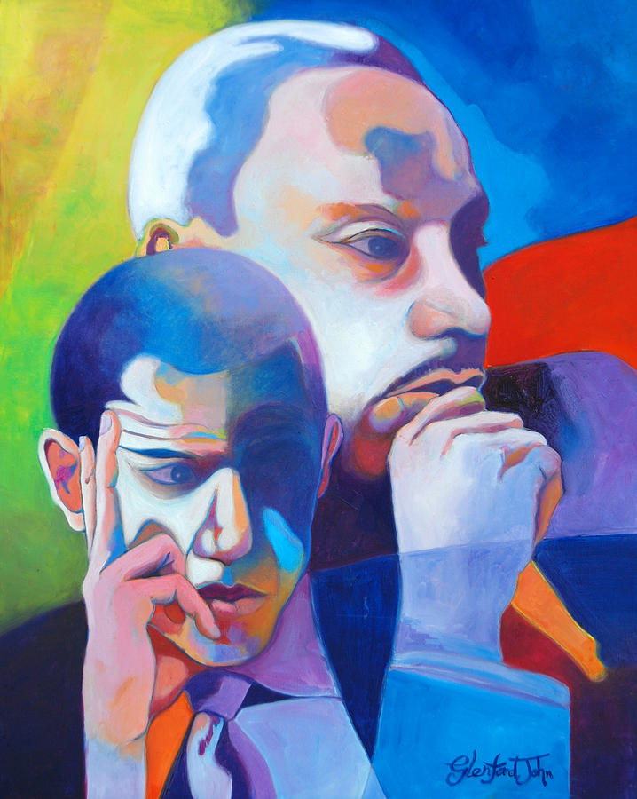Obama Painting - The Dream by Glenford John