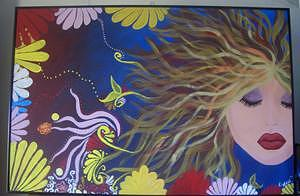 Painting Painting - The Dreamer by Hollie Leffel