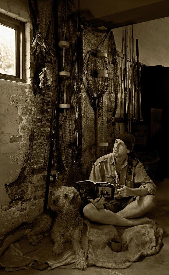 Fisherman Photograph - The Dreaming Fisherman by Basie Van Zyl