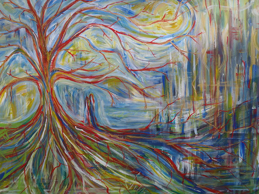 The Dreaming Tree Painting - The Dreaming Tree by Made by Marley