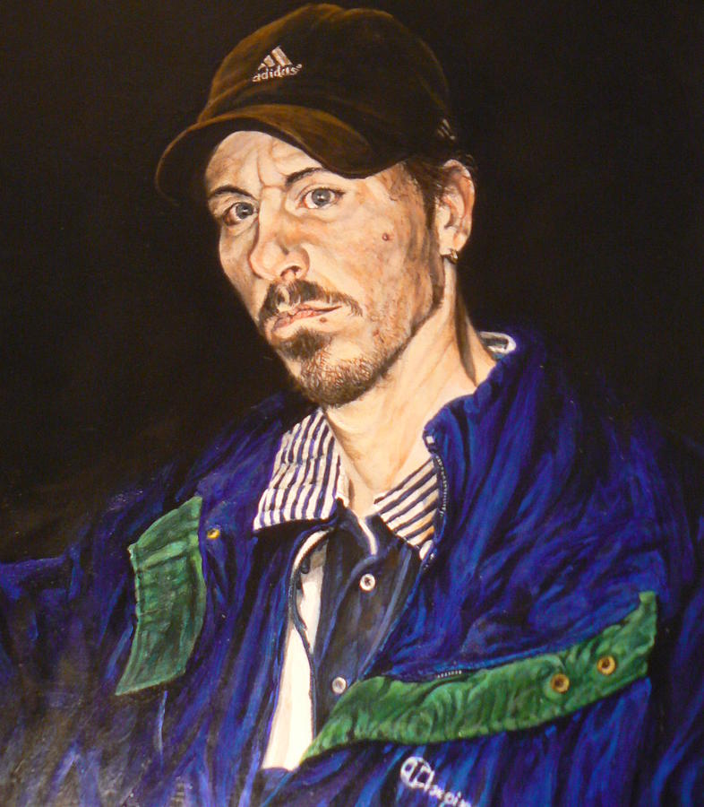 Appalachia Painting - The Dying Fry Cook by Thomas Akers