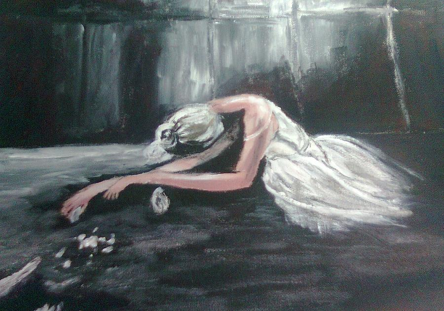 The Dying Swan Painting By Caroline Martin