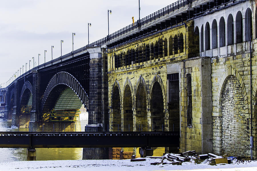 St. Louis Photograph - The Eads Bridge by Kristy Creighton