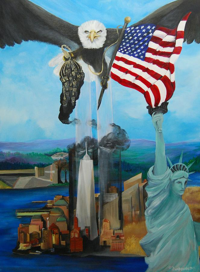 The Eagle Painting by Amy Stewart Hale